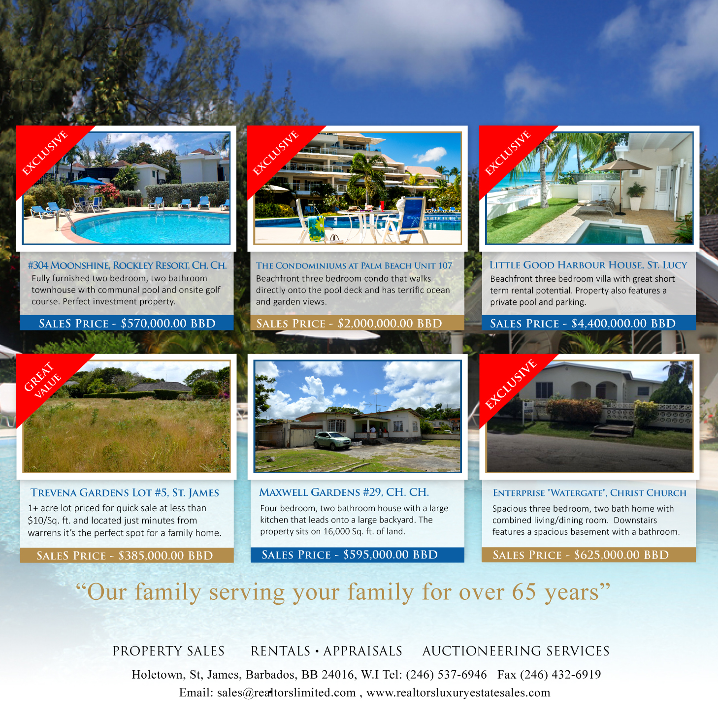 Digital Marketing Barbados Recent work